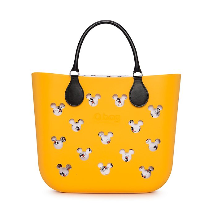 O Bag Mickey Mouse Yellow Handbag