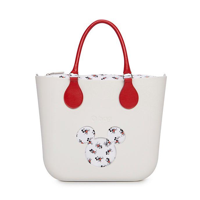O Bag - Micky Maus - weiße Mini-Handtasche