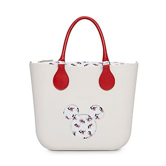 Obag Mini sac à main Mickey Mouse blanc