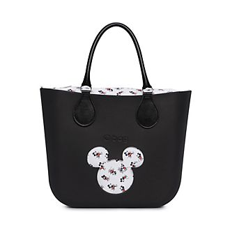 O Bag Mickey Mouse Mini Black Handbag