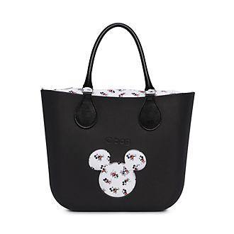 O Bag - Micky Maus - schwarze Mini-Handtasche