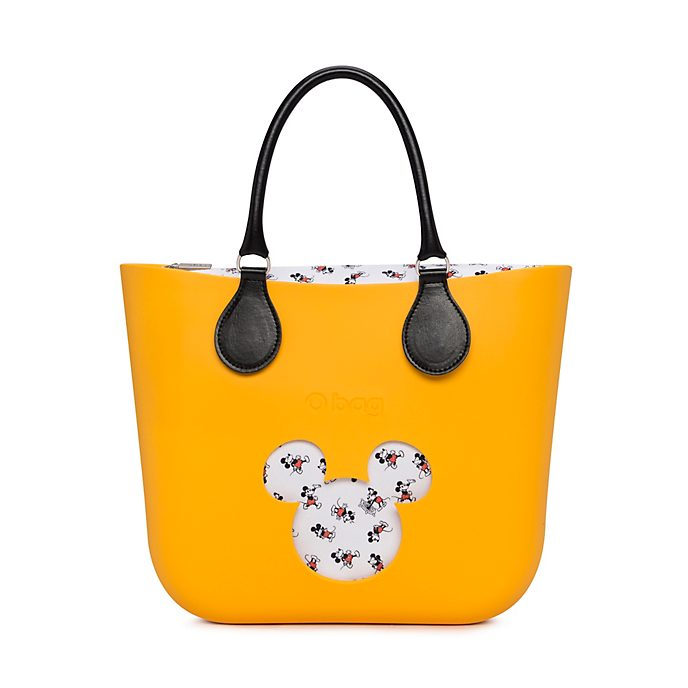 O Bag Mickey Mouse Mini Yellow Handbag