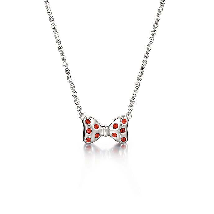 Collar lazo Minnie Mouse en plata, Chamilia