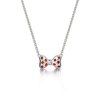 Chamilia Mickey Mouse Bow Silver Necklace