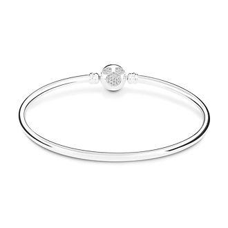 Chamilia bracciale rigido Brilliance Topolino in argento