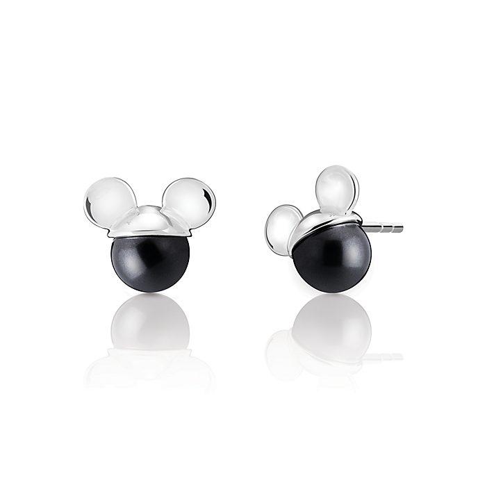 Chamilia orecchini a bottone Topolino con perla di cristallo