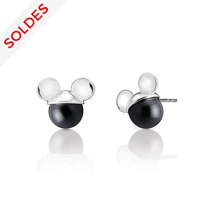 Chamilia Clous d'oreilles Mickey Mouse avec perle en cristal