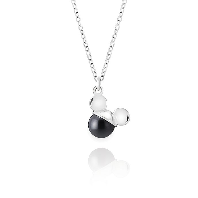 Chamilia Mickey Mouse Crystal Pearl Necklace