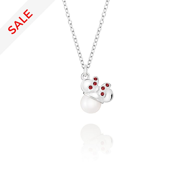 Chamilia Minnie Mouse Crystal Pearl Necklace