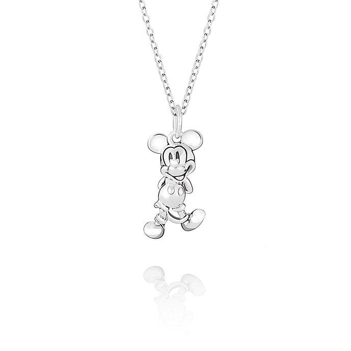 Chamilia Mickey Mouse Figural Silver Necklace