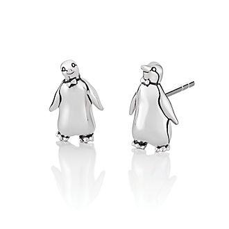 Chamilia - Mary Poppins Returns - Silberfarbene Ohrstecker in Pinguinform