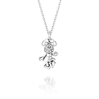 Chamilia Minnie Mouse Figural Silver Necklace