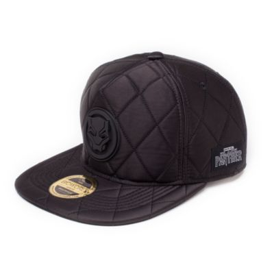 Black Panther Quilted Cap For Adults