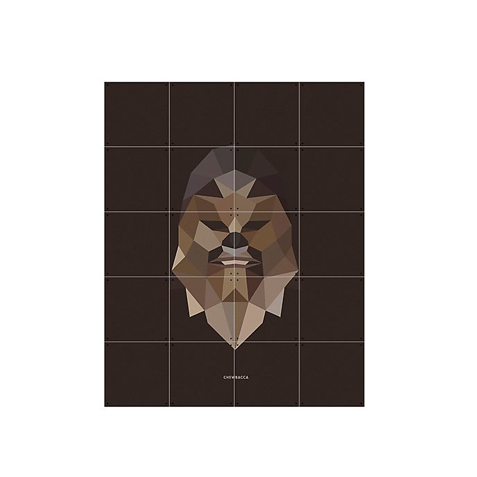 Lámina de arte Chewbacca Star Wars, IXXI