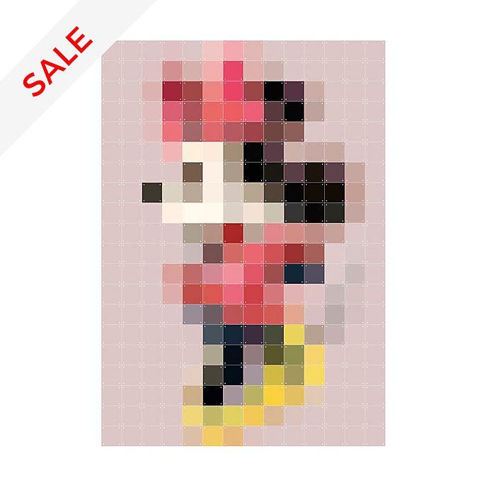 IXXI Minnie Mouse Pixelated Wall Art