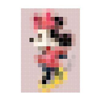 IXXI - Minnie Maus - Wandschmuck in moderner Pixel-Version