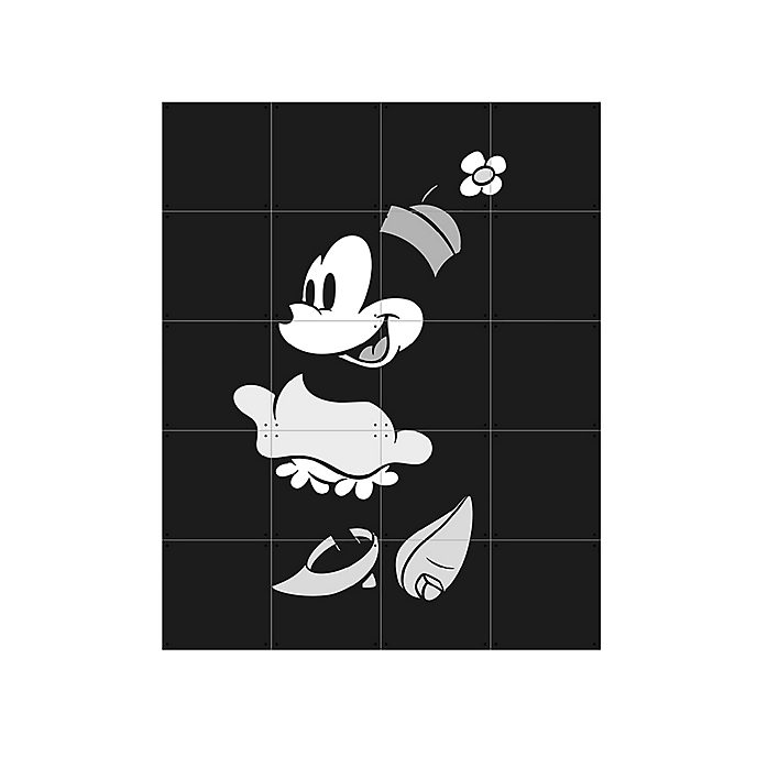 IXXI - Minnie Maus - Wandschmuck in Schwarz-Weiß