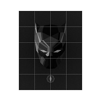 IXXI Art mural Black Panther