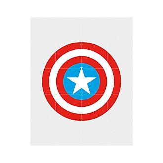 Panel decorativo del escudo del Capitán América de IXXI