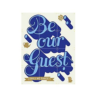 IXXI 'Be Our Guest' Wall Art, Beauty and the Beast