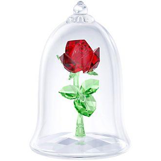 Swarovski Enchanted Rose Crystal Figurine, Beauty and the Beast