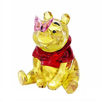 Swarovski Figurine Winnie l'Ourson avec papillon en cristal