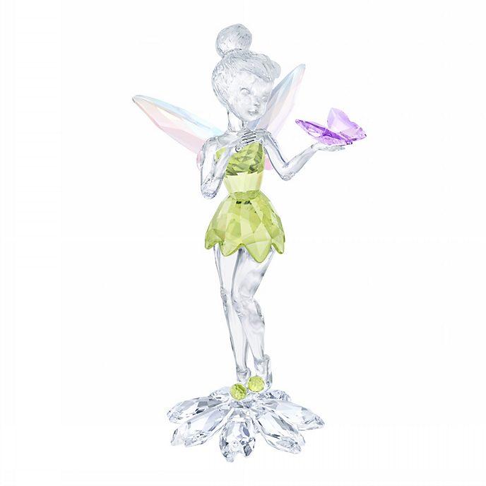 Swarovski figurita cristal Campanilla con mariposa