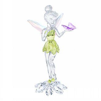 Swarovski Figurine Fée Clochette avec papillon en cristal