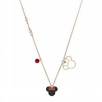 Swarovski Collier Minnie Mouse plaqué en or rose