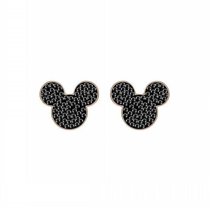 Swarovski - Micky Maus - roségoldene Ohrringe mit Silhouette