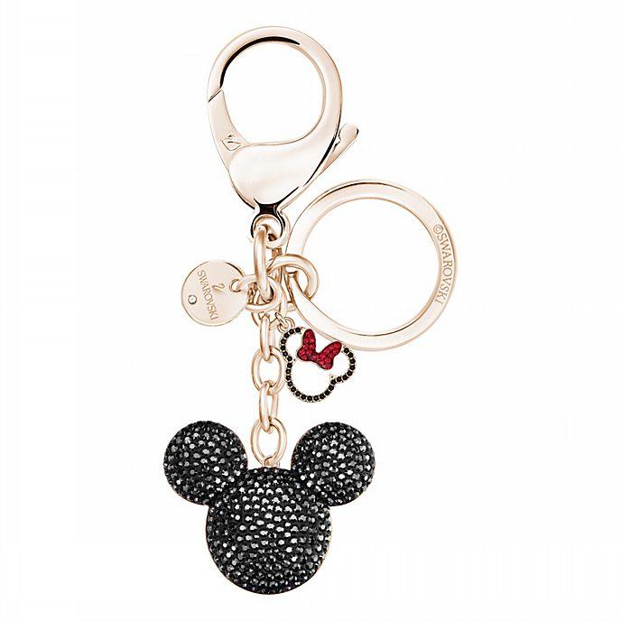 Swarovski Porte-clés Mickey Mouse plaqué en or rose