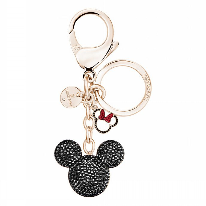 Swarovski Mickey Mouse Rose Gold-Plated Keyring