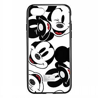 Swarovski carcasa para iPhone X Mickey Mouse