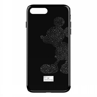 Swarovski carcasa para iPhone 7+/8+ negra Mickey Mouse