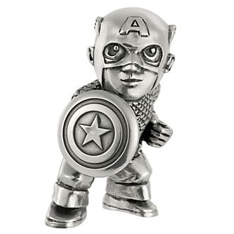 Mini statuetta Capitan America Royal Selangor