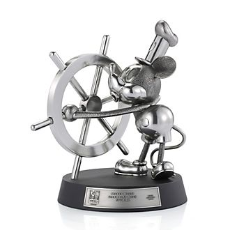 Royal Selangor - Steamboat Willie - Figur als limitierte Edition
