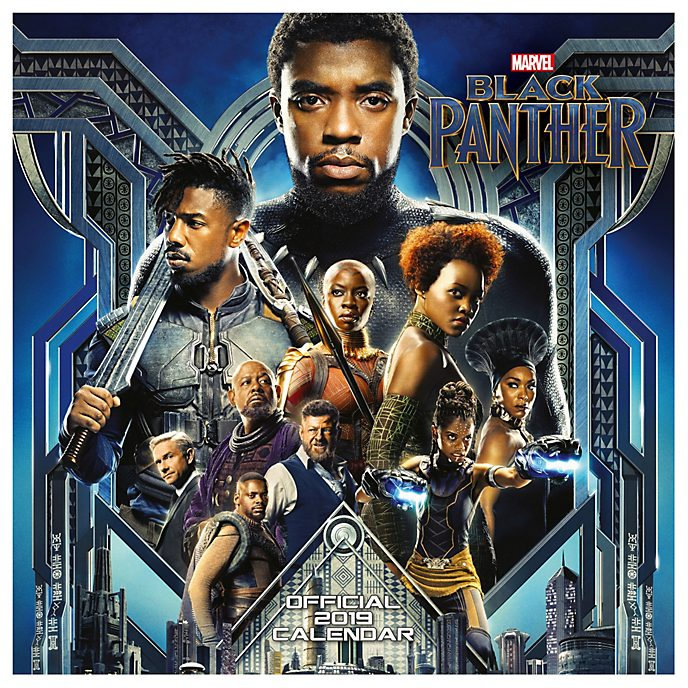 Danilo Black Panther 2019 Calendar