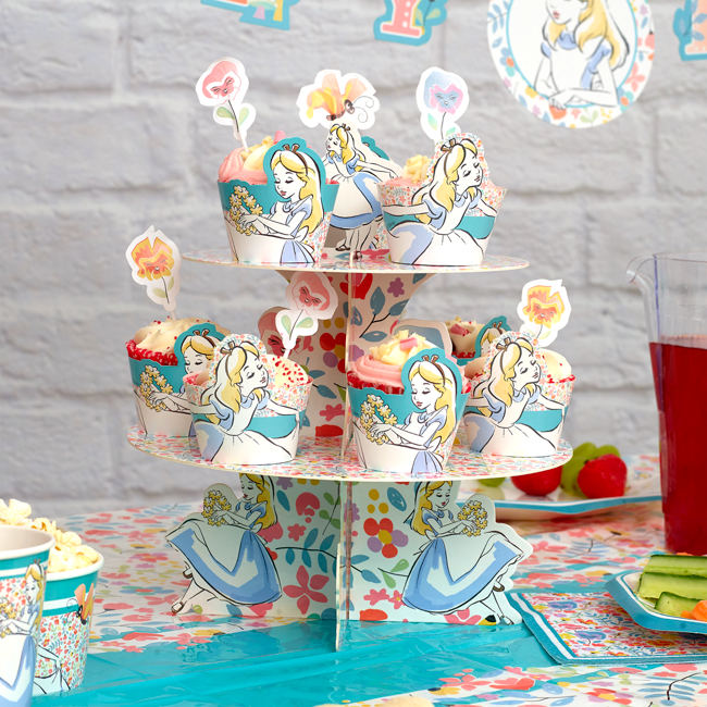 Alice in Wonderland Cupcake Recipe