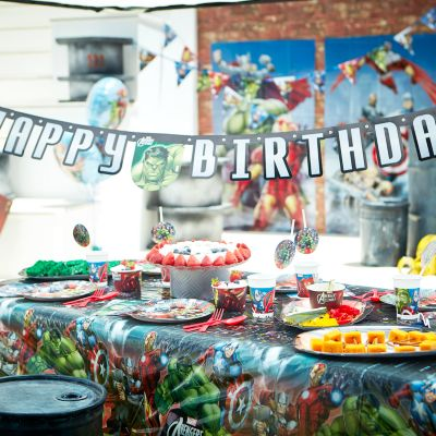 Avengers Tableware & Decorations