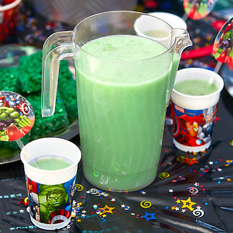 Incredible Hulk Green Power Smoothie