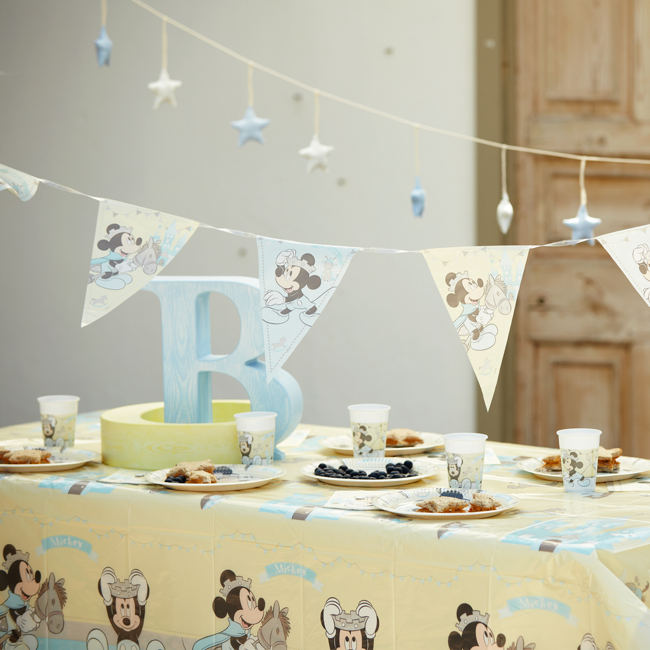Baby Mickey Tableware & Decorations