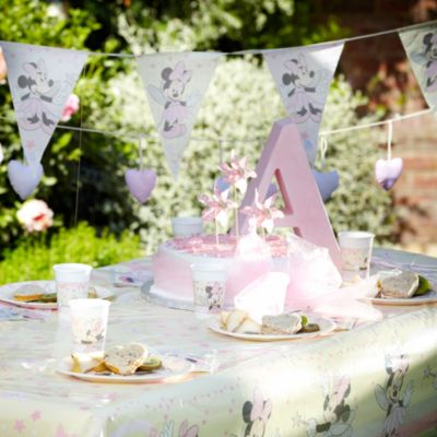 Baby Minnie Tableware & Decorations