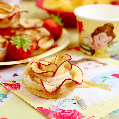 Belle Inspired Apple Rose Tarts