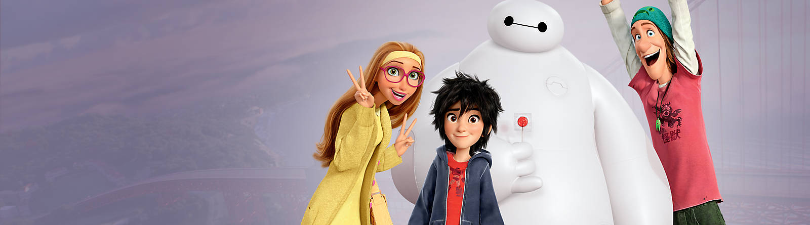 Big Hero 6 Discover the exciting world of Big Hero 6 with our toys, collectibles, figurines and more