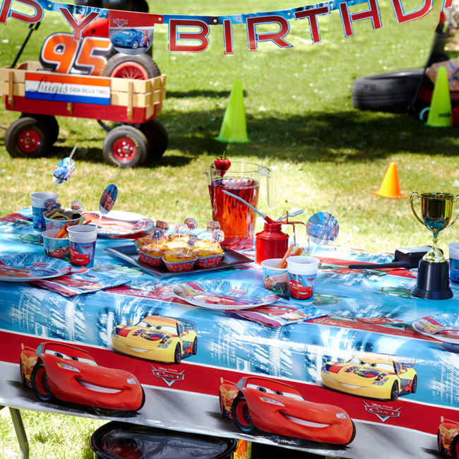 Cars Tableware & Decorations