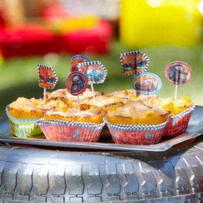 Cars Mac & Cheese Muffin Recipe