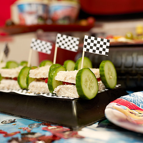 Cars Party Sandwiches