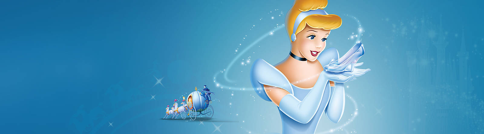 Cinderella Biddi-boddi-boo!  Discover our range of Cinderella costumes, toys, accessories and more