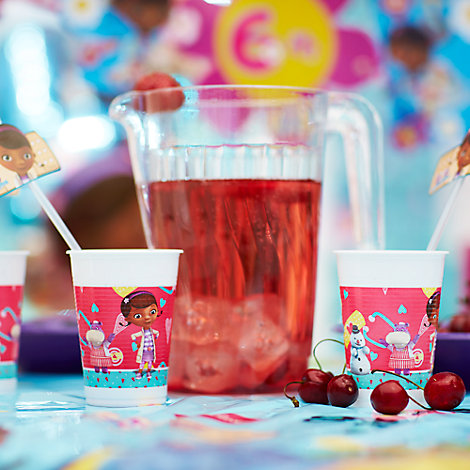 Doc McStuffins Strawberry & Mint Lemonade Recipe