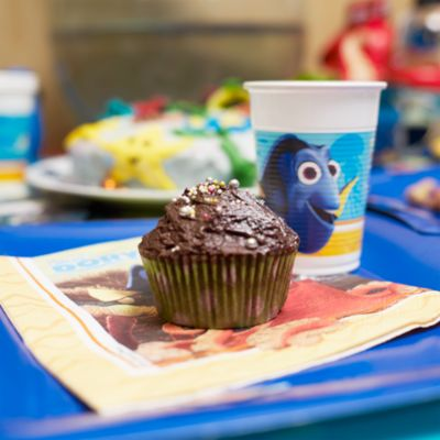 Finding Dory Chocolate Cupcake Recipe